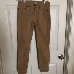 J. Crew Corduroy Khaki pants.
